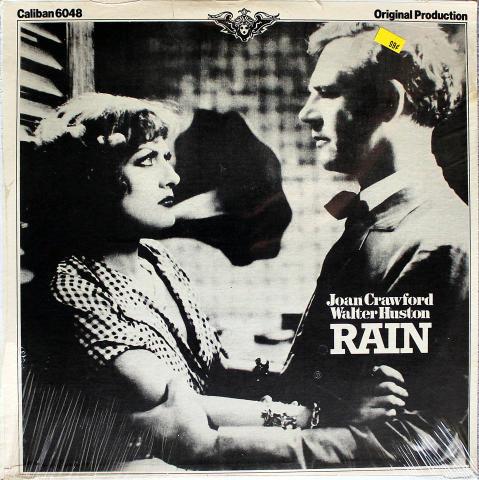 "Joan Crawford / Walter Huston Vinyl 12"""