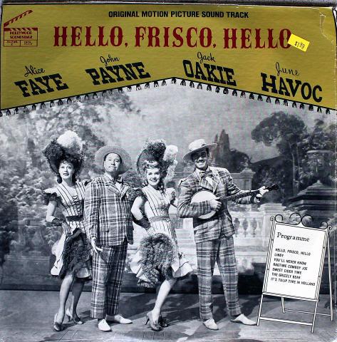 "Hello, Frisco, Hello Vinyl 12"" (New)"