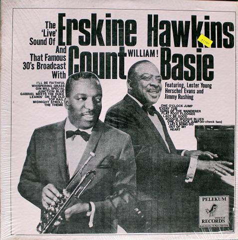 """Erskine Hawkins / Count Basie Vinyl 12"""""""