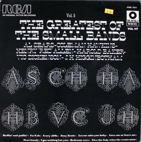 "Al Sears And His Orchestra Vinyl 12"""