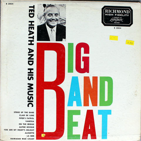 """Ted Heath And His Music Vinyl 12"""""""