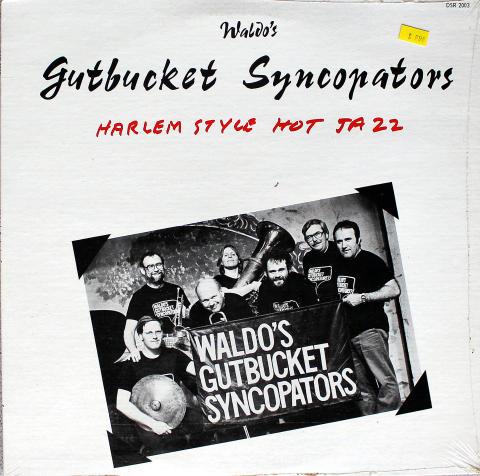 "Waldo's Gutbucket Syncopators Vinyl 12"""