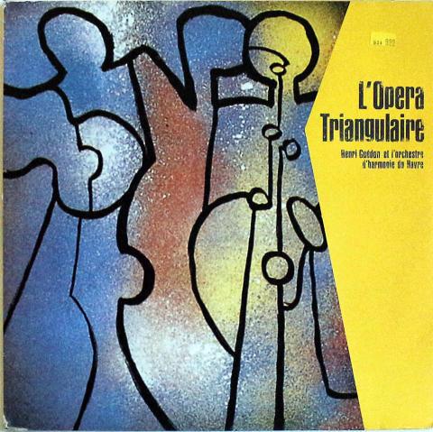 """Henri Guedon Vinyl 12"""""""