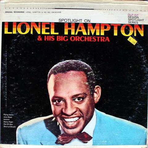 """Lionel Hampton And His Big Orchestra Vinyl 12"""""""