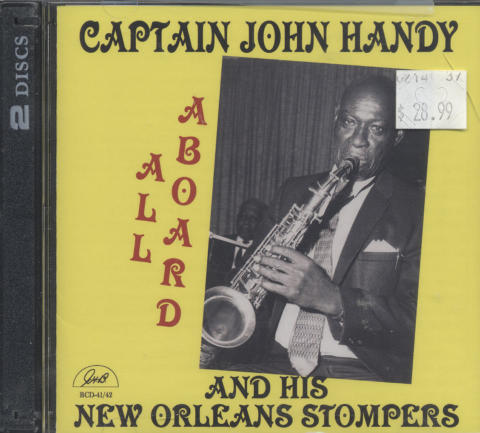 Captain John Handy and his New Orleans Stompers CD
