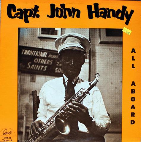 "Capt. John Handy Vinyl 12"""