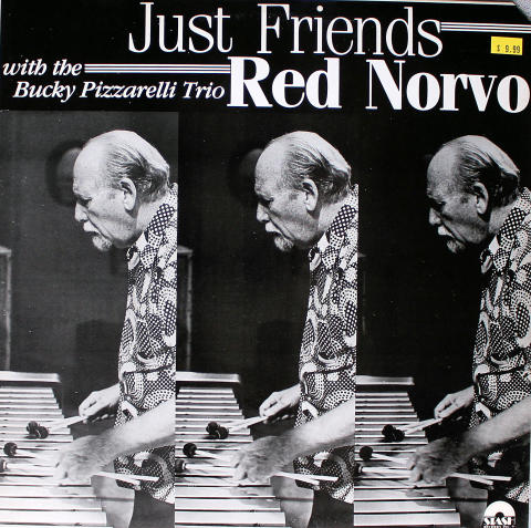 Red Norvo With The Bucky Pizzarelli Trio Vinyl 12""