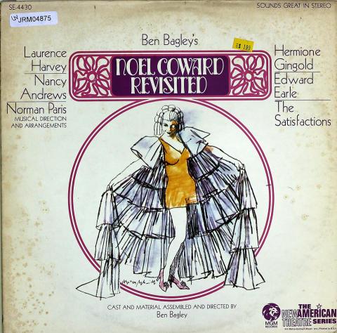 """Ben Bagley's: Noel Coward Revisited Vinyl 12"""""""