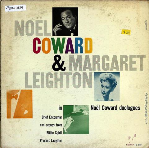 """Noel Coward/ Margaret Leighton Vinyl 12"""" (Used)"""