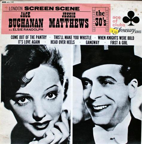 """Jack Buchanan / Jessie Matthews Vinyl 12"""""""