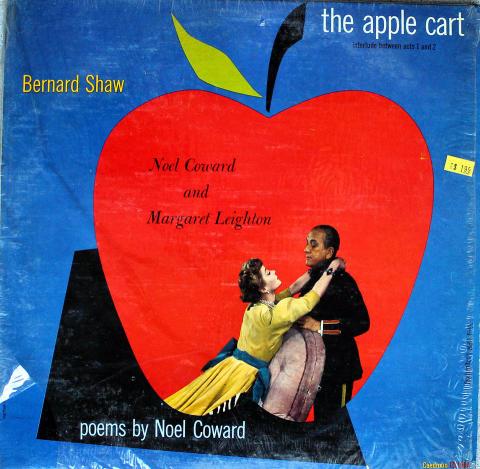 """Bernard Shaw's The Apple Cart Vinyl 12"""""""
