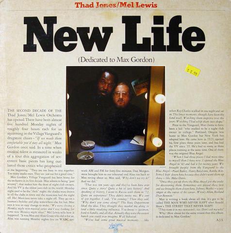 """Thad Jones / Mel Lewis Vinyl 12"""""""