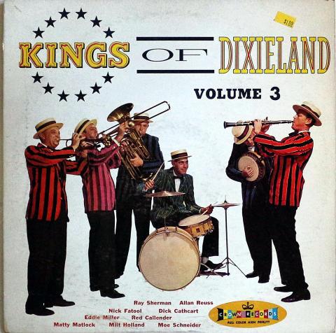 """Kings Of Dixieland Volume 3 Vinyl 12"""""""