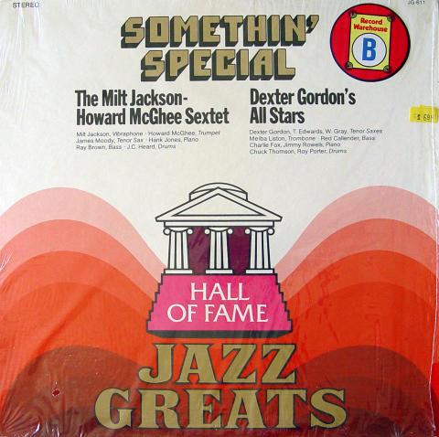 """The Milt Jackson-Howard McGhee Sextet Vinyl 12"""""""