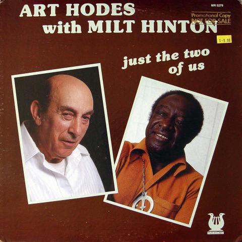 """Art Hodes With Milt Hinton Vinyl 12"""""""