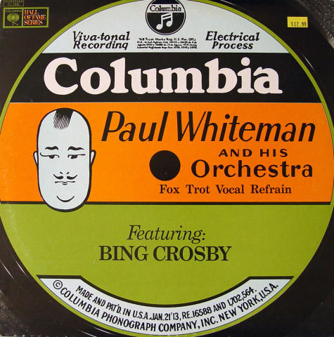 "Paul Whiteman And His Orchestra Vinyl 12"" (Used)"