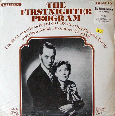 "Barbara Luddy And Olan Soule Vinyl 12"""