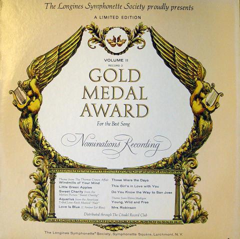 """Gold Medal Award Volume II Vinyl 12"""""""