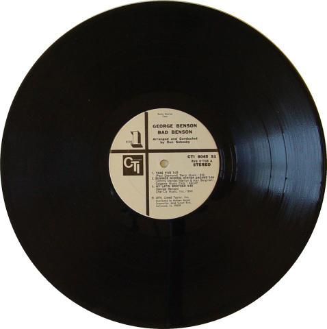 "George Benson Vinyl 12"""