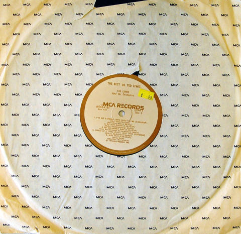 """Ted Lewis And His Orchestra Vinyl 12"""""""