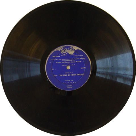 """Abraham A. Low, M.D. Vinyl 12"""""""