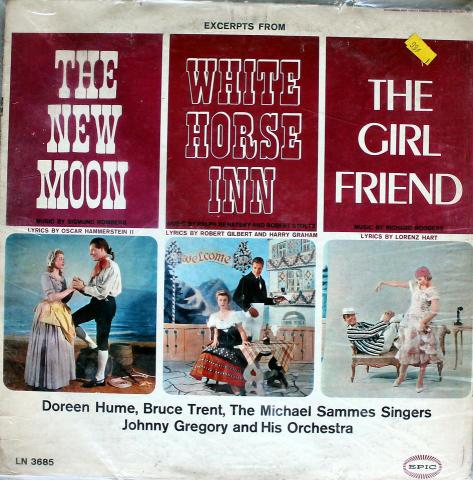 """The New Moon / White Horse Inn / The Girl Friend Vinyl 12"""" (Used)"""