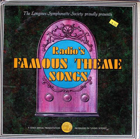 """Radio's Famous Theme Songs Vinyl 12"""""""