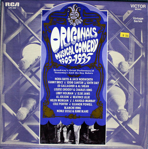 Originals Musical Comedy 1909-1935 Vinyl 12""
