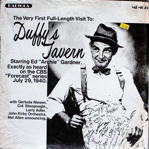"Duffy's Tavern Vinyl 12"""