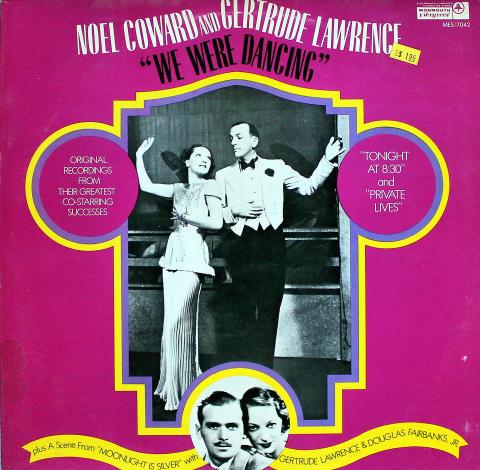 "Noel Coward And Gertrude Lawrence Vinyl 12"""
