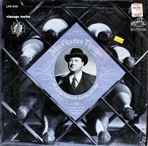 """John Charles Thomas Vinyl 12"""""""