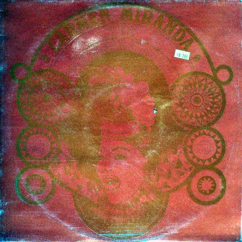 "Carmen Miranda Vinyl 12"""