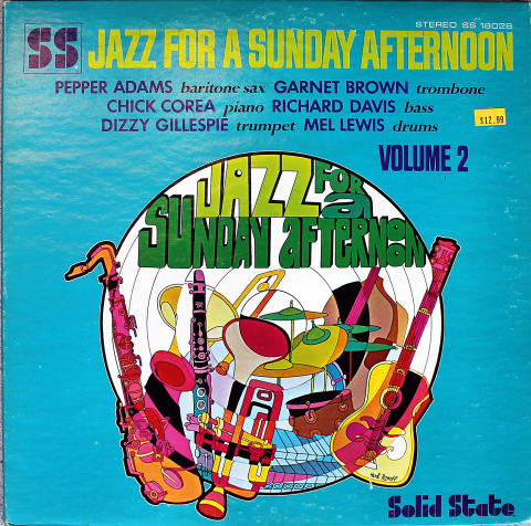 """Jazz For A Sunday Afternoon Volume 2 Vinyl 12"""" (Used)"""