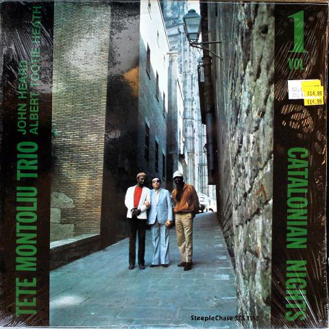 """Tete Montoliu Trio Vinyl 12"""""""