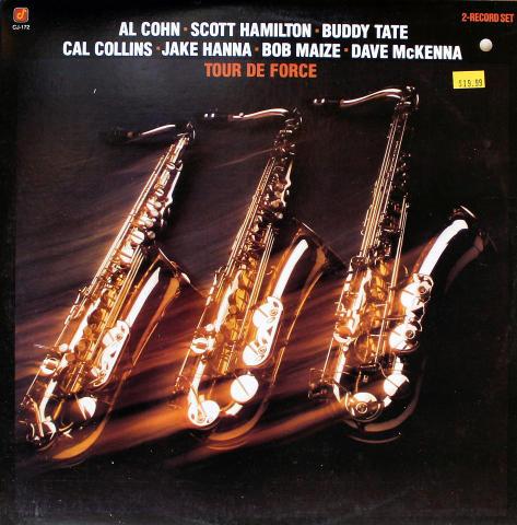 "Al Cohn / Scott Hamilton / Buddy Tate Vinyl 12"""
