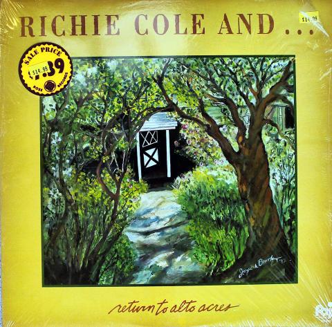 """Richie Cole Vinyl 12"""""""