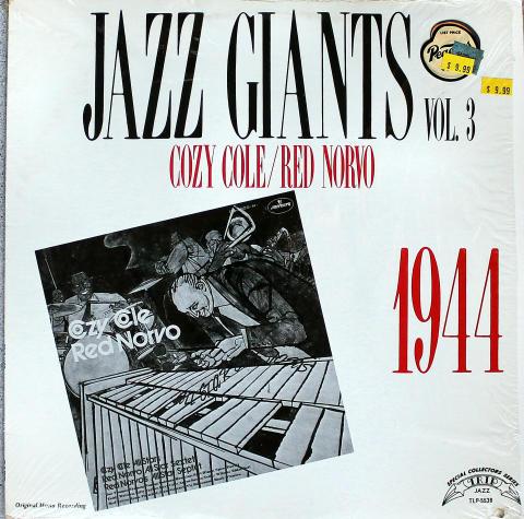 """Cozy Cole / Red Norvo Vinyl 12"""""""