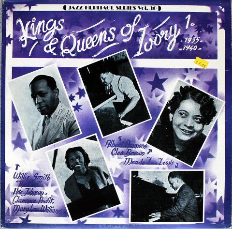 """Kings & Queens Of Ivory 1. 1935-1940 Vinyl 12"""""""