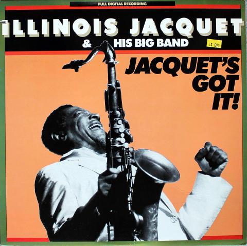 "Illinois Jacquet & His Big Band Vinyl 12"""