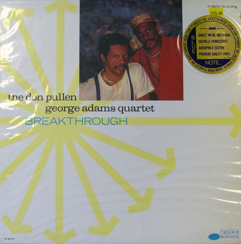 The Don Pullen - George Adams Quartet Vinyl 12""