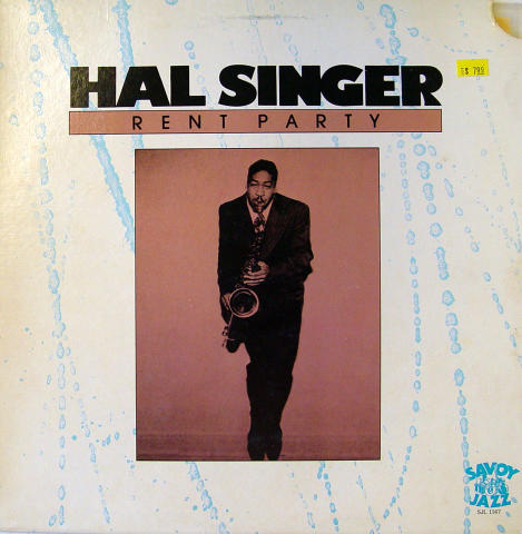 "Hal Singer Vinyl 12"""