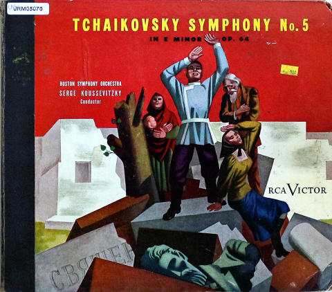 "Boston Syphony Orchestra Serge Koussevitzky Conductor Vinyl 12"""