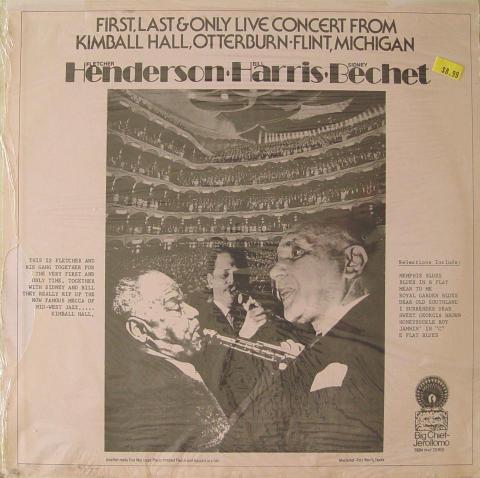 """Henderson / Harris / Bechet Vinyl 12"""""""
