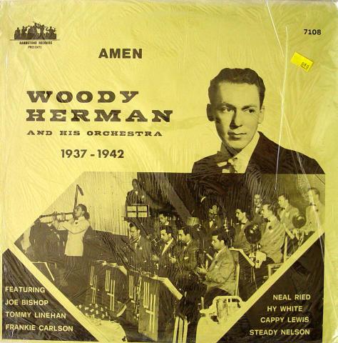 "Woody Herman & His Orchestra 1937-1942 Vinyl 12"""