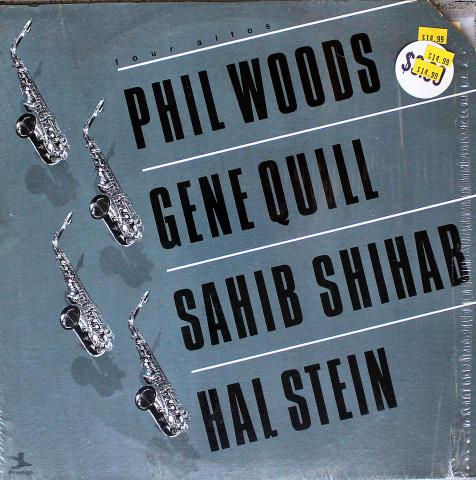 "Phil Woods / Gene Quill / Sahib Shihab / Hal Stein Vinyl 12"""