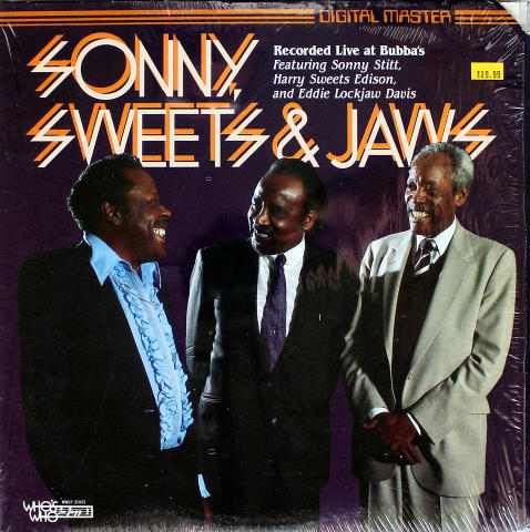 "Sonny Stitt / Harry ""Sweets"" Edison / Eddie ""Lockjaw"" Davis Vinyl 12"""