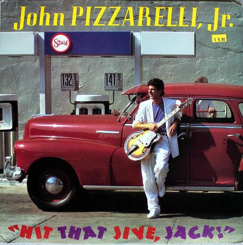 """John Pizzarelli, Jr. Vinyl 12"""""""