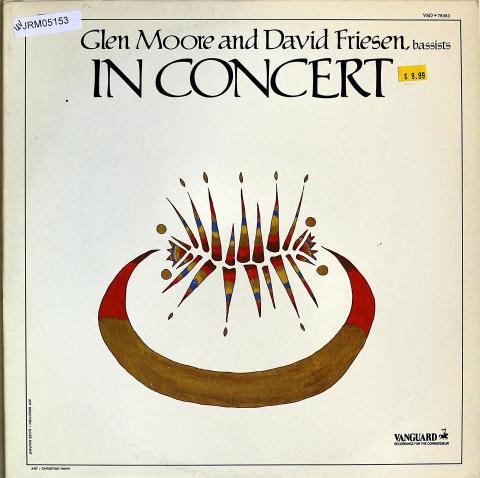 """Glen Moore And David Friesen Vinyl 12"""""""