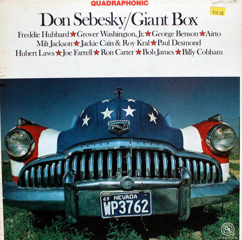 "Don Sebesky Vinyl 12"""