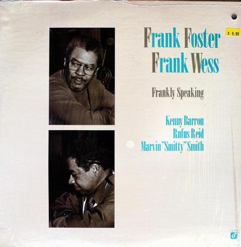 "Frank Foster / Frank Wess Vinyl 12"""